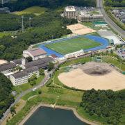 神戸市・西神ニュータウンに位置する広大なキャンパス